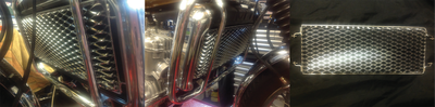 Perfect reproduction radiator grill for GT750 J and K models