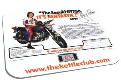 The Barry Sheene GT750 Mousemat